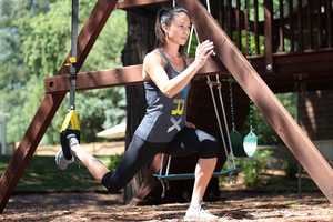 The Portable TRX Home Gym Equipment Encourages Outdoor Exercise