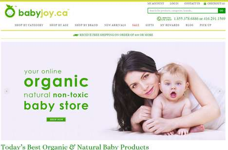 Ethical Baby Care Retailers - Baby Joy Offers a Sustainable and Ethical Product Range