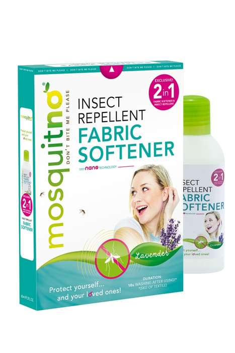 Bug-Repelling Fabric Softeners - MosquitNo's Insect Repellent Products are Creative Alternatives