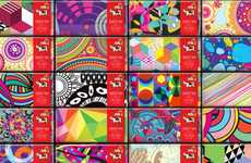Kaleidoscopic Candy Bar Packaging