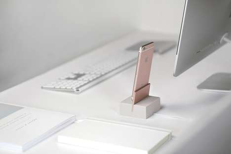 Minimalist Charging Docks - Native Union's New Collection of Device Docks Promote Simplistic Style