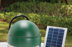 Solar-Powered Insect Sprayers - This Mosquito Abatement System Operates Without Electricity
