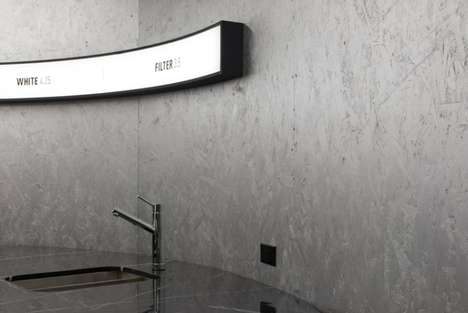 Desolate Futuristic Espresso Bars - Voyager Espresso Bar is Located in NYC's Financial District
