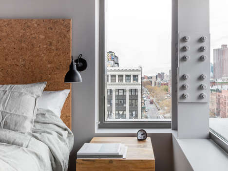Chic Austere Lodgings - NYC's Sago Hotel Offers Stylish Affordability on the Lower East Side