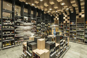 This Sofia Grocery Store Boasts an Elaborate Wine Department