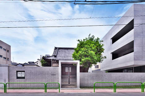 Industrial Chapel Architecture - Tsunyuji Temple's Modern Renovation Mirrors Tokyo's Urban Landscape