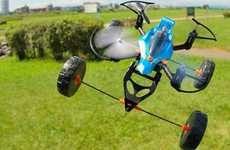 All-Terrain Toy Drones - Takara Tomy's Earth Rider Flying Drones Conquer Land, Air and Water