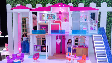 Smart-Connected Dollhouses - The 'Hello Barbie Dreamhouse' Features Wi-Fi and Voice Recognition