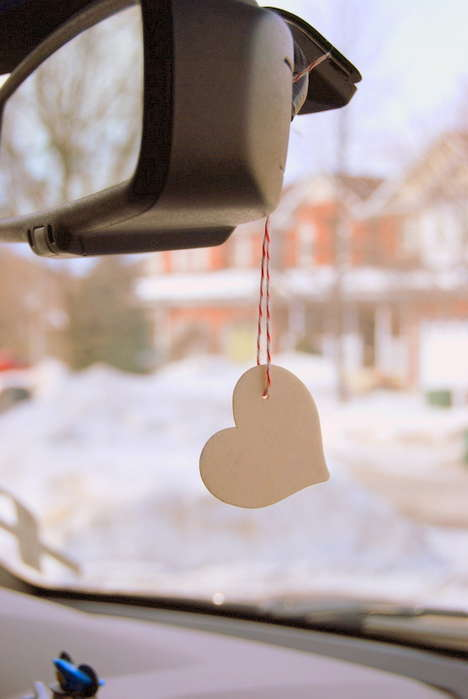 Scented Wood Air Fresheners - This Wooden DIY Air Freshener is Made Using Craft Wood and Oil