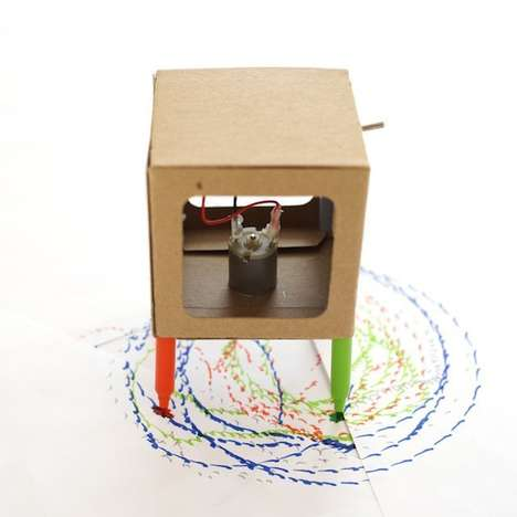 DIY Drawing Robots - Makers Toolbox Teaches Kids to Create a Functional