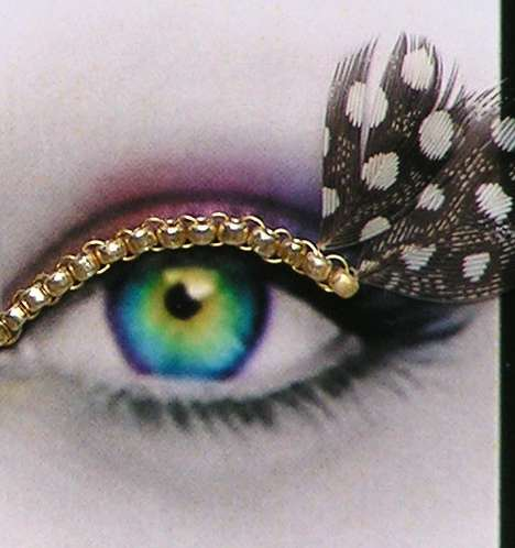 44 Innovative Eyelash Ideas - These Creative Eyelashes & Accessories Celebrate National Lash Day