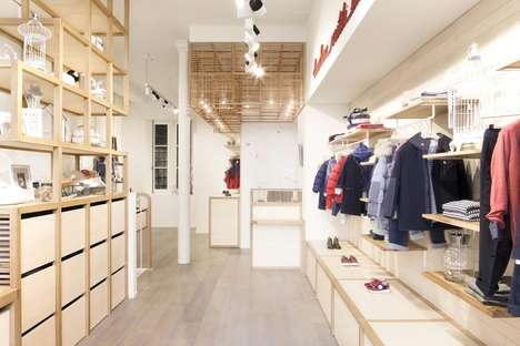 Nordic-Inspired Kids Boutiques - The New Il Gufo Flagship is the Brand's First Store in Paris