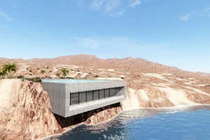 The 'Aqua Casa' is a Luxury Retreat that Disappears into the Coastline