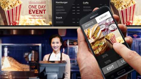 Smartphone Movie Theater Marketing - Mobiquity and Screenvision will Use Beacon Tech for Mobile Ads