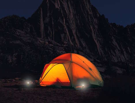Illuminated Camping Stakes - UCO Stakelight LED Tent Pegs Ensures Clear Visibility in the Night