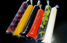 DIY Popsicle Bags - 'FRIOPOP' Homemade Popsicle Bags Enable Custom Frozen Treats