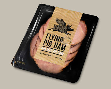 Artisan Deli Meat Branding - This Example of Deli Meat Branding Hails from Ireland