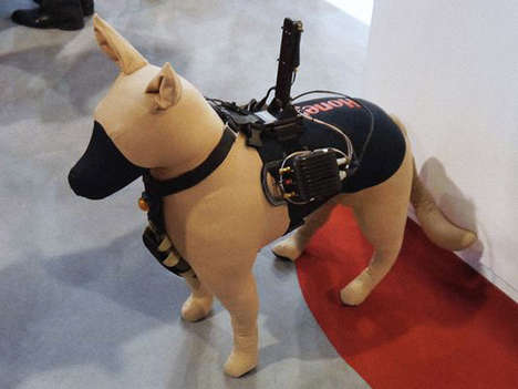 Canine Battle-Suits - The 'K9 C2SA' Suit Helps Dogs Locate People Lost During Disasters