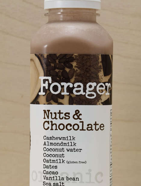 Ready-to-Drink Nut Milks - These Low-Sugar Milks Combine Different Nuts for a Dairy-Free Alternative