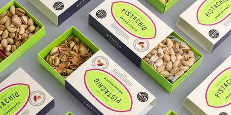 Ultra-Fresh Pistachio Branding - Pistachio Provenance Boasts Vibrant Packaging That Oozes Freshness