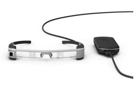 Augmented Reality Glasses - The Latest Epson Moverio Glasses Feature Transparent Lenses