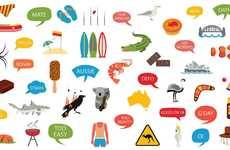Australian Emoji Keyboards - The 'Aussie Emoji Keyboard' Lets Users Text with Aussie-Inspired Lingo