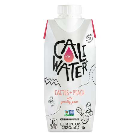 Fruity Cactus Beverages - These Plant Water Drink Blends Wild Prickly Pear and Fruits