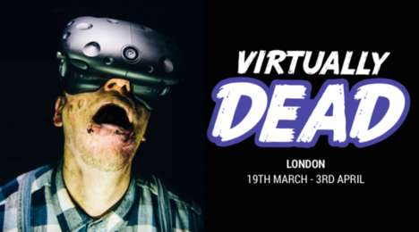 Virtual Immersive Experiences - The Virtually Dead Attraction Blends Theater and Virtual Reality