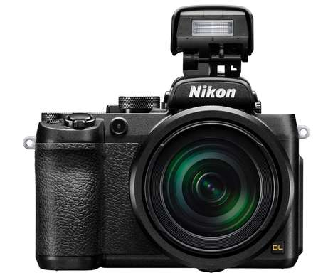 Sports-Shooting Cameras - Nikon's New Sports Camera Allows For Stable High-Speed Shooting