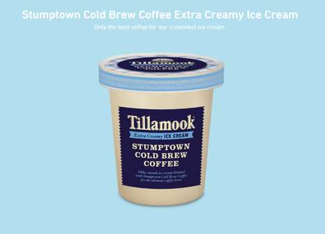 Coffee-infused Ice Creams - The Stumptown Cold Brew Ice Cream Provides a Sweet Way to Enjoy Coffee