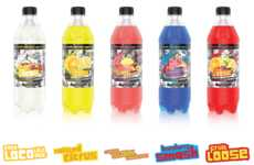 Convenience Store Soda Collections - This Premium Soda Line Was Crafted Just for 7-Eleven