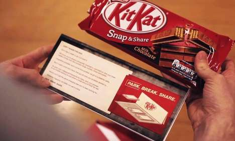 Smartphone Parking Lot Ads - This Mobile Parking Map Encourages Co-Workers to Share a KitKat