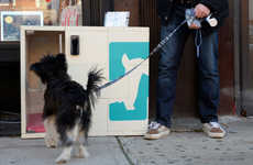 These Sidewalk Dog Kennels Allow Consumers to Temporarily Park Their Dog