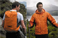 Wearable Backpack Jackets