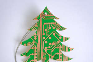 Geek Chic Christmas Tree Decorations
