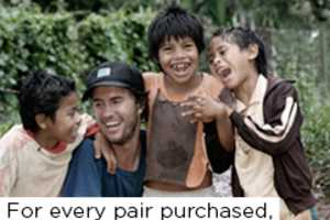 Toms Shoes Donates One Pair Per Purchase