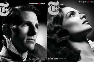 Tom Cruise and Katie Holmes for T Style Magazine