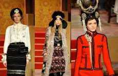 Russian Front Fashion - Chanel Pre-Fall Loves Slavic Look