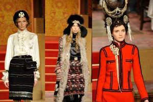 Chanel Pre-Fall 2009 Loves Slavic Look