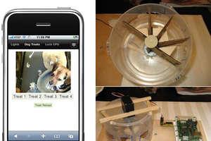 Student Engineers Remote Treat Dispenser