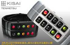 Telling Time With Blinking Buttons - The Flashy LED  Kisai Tenmetsu Watch