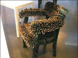 Unusual and Uncomfortable Chairs and Benches