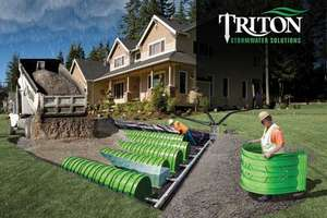 Triton Stormwater Solutions Save Time, Money, Land