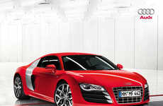2010 Luxury Car Sneak Peaks - Monster Audi R8 Powered by Lambo V10