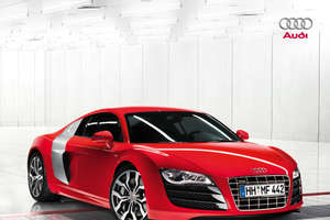 Monster Audi R8 Powered by Lambo V10