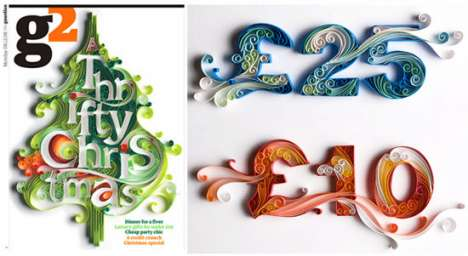 Papercut Typography