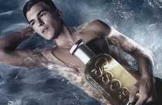 Fragrance Fashion Editorials - 'Cool Water' Spread in L'Officiel Hommes Celebrates