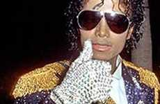 "Michael Jackson Says Adios to ""Billie Jean"" Glove"