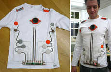DIY Musical Fashion - Wearable Toy Piano Shirt Actually Works!