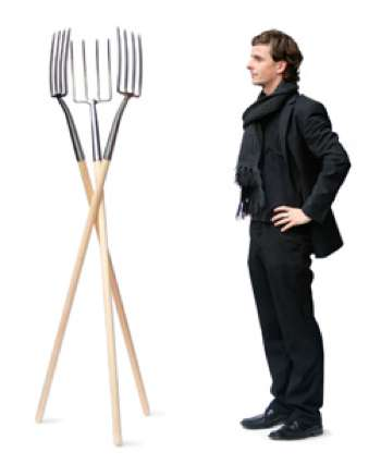 Pitchfork Coat Racks